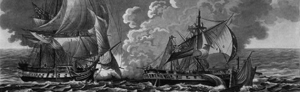 The USS Constitution battles the HBM Java